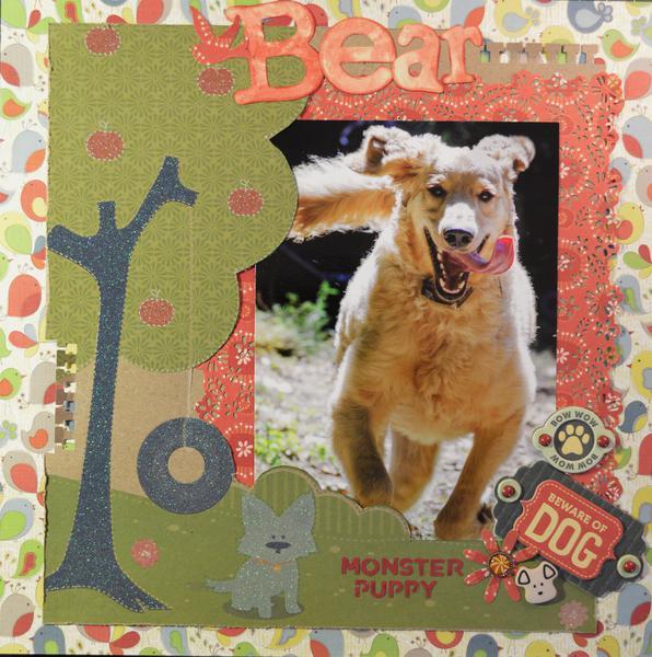 Bear - Monster Puppy