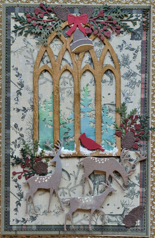 Cathedral Window Cards