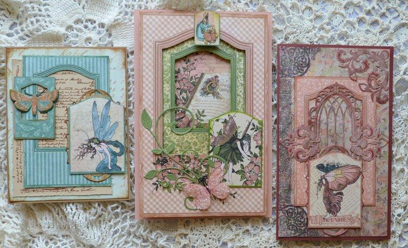 Springtime Fairies Cards