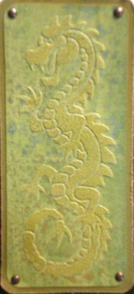 Close Up of Dragon Tag