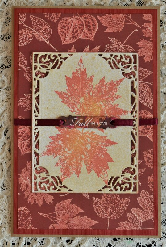 6 Larger Thanksgiving-Fall Cards