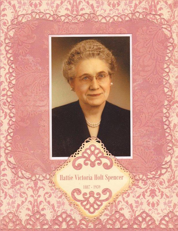 Hattie Victoria Holt Spencer