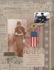 WW2 U S Army Honor Guard
