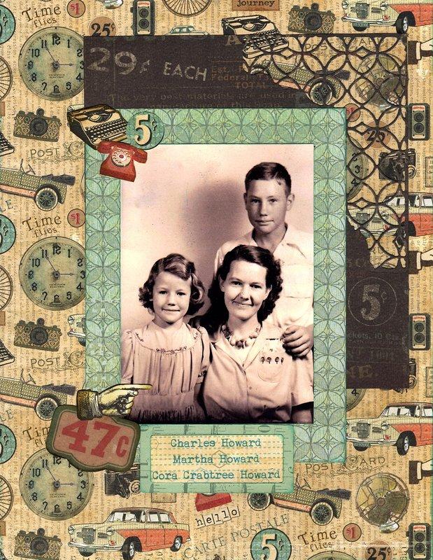 Aunt Cora's Family