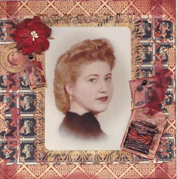 Family Album-Mom at 17
