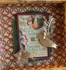 Partridge in a Pear Tree Box Inside Top