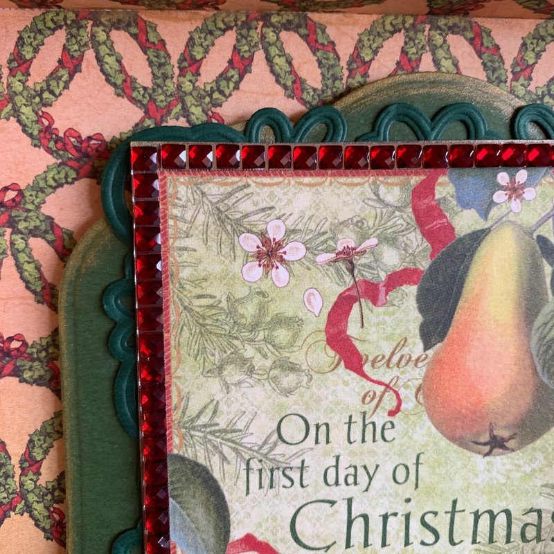 Partridge in a Pear Tree Box Close Up