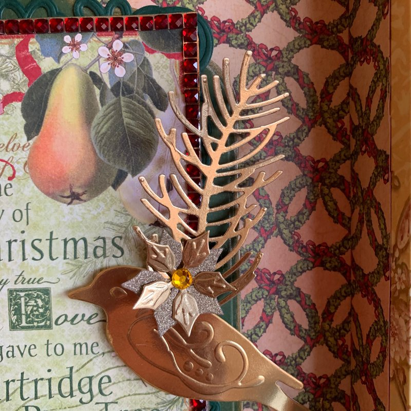 Partridge in a Pear Tree Box Close Up 2