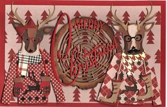 Large Christmas Cards - Merry Christmas
