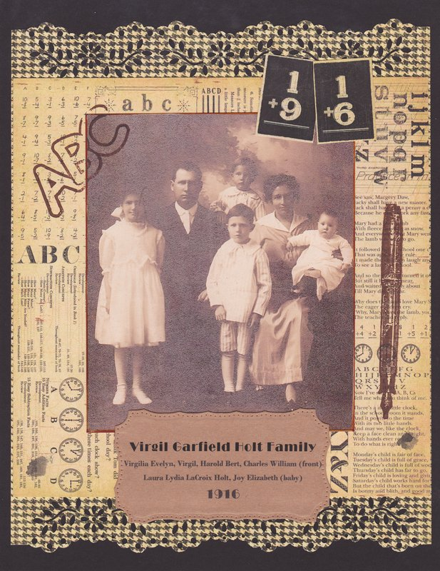 Virgil Holt Family 1916