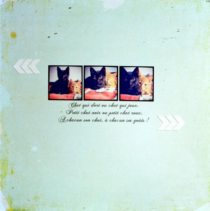 Trois p'tits chats …