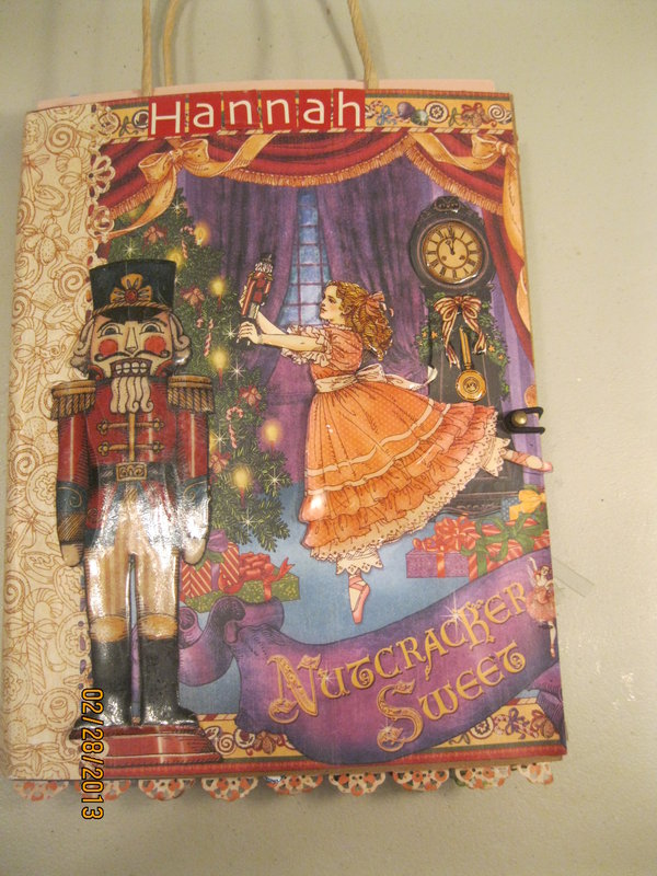 Nutcracker Mini Book