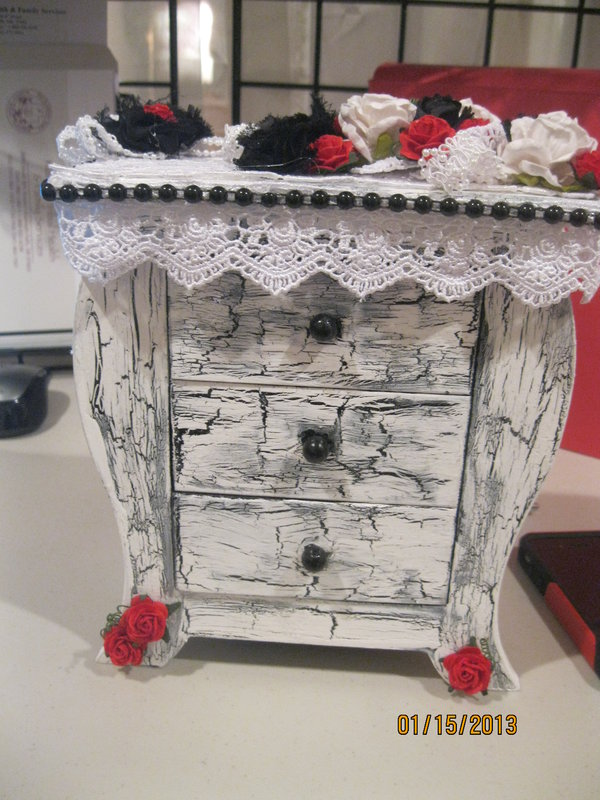 Crackle Painted Dresser