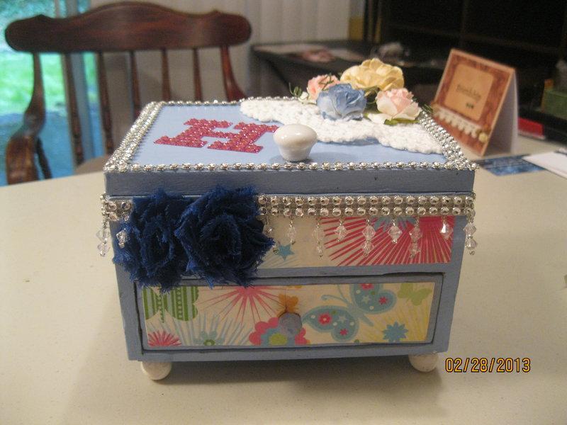 Altered Jewery Box