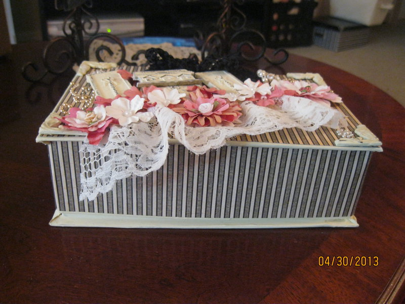 Altered candy box