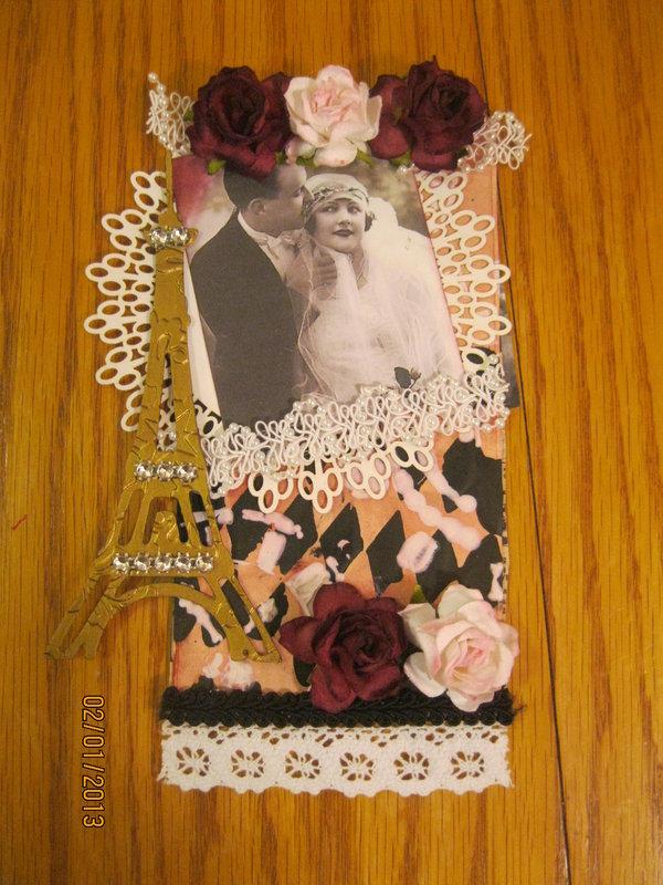Vintage Romance Tag