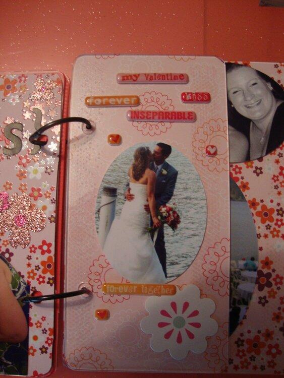 wedding acrylic album