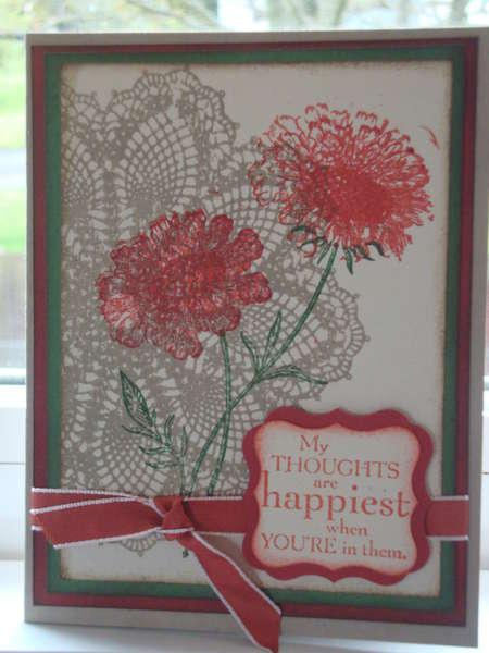 field flowers card