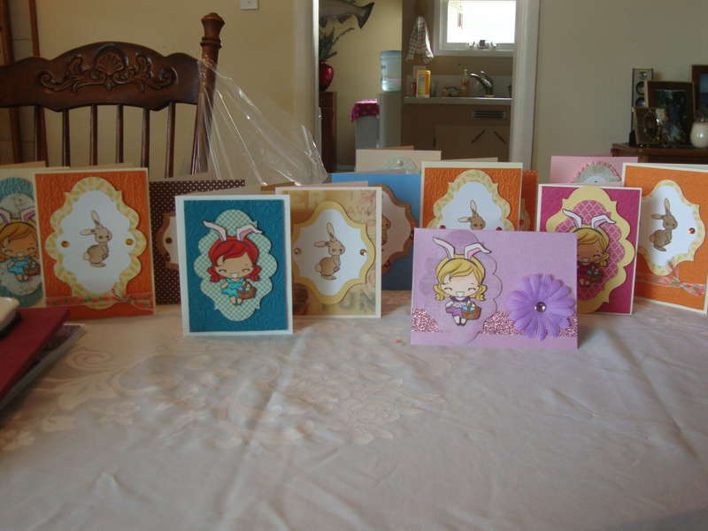 a bevy of easter cards