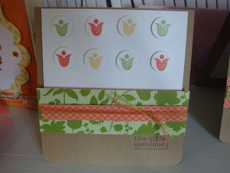 Summer Smooches and bright blossoms card
