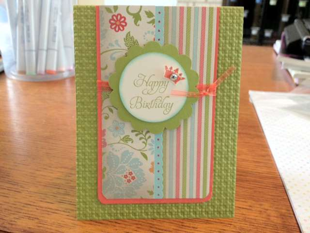 Happy Birthday everyday enchantment stampin up