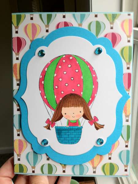 Mimi in the Skies card