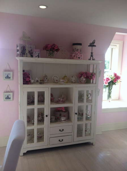 Tea cabinet in my scrap room
