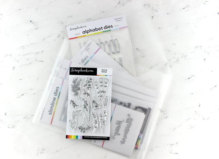Scrapbook.com| Letter isze Storage Envelope