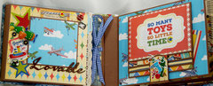 Carta Bella Toy Box Collection Little Boy Mini Album