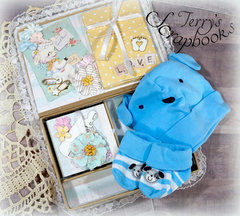 Prima Heaven Sent 2 Baby Keepsake Box Reneabouquets Design Team Project.