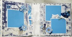 Fab Scraps Floral Delights Scrapbook Mini Album Reneabouquets Design team project