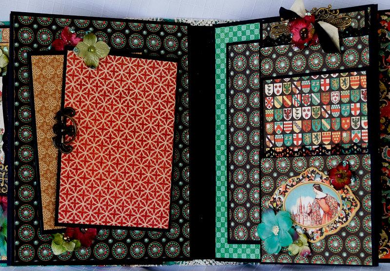 Graphic 45 Enchanted forest Mini Album