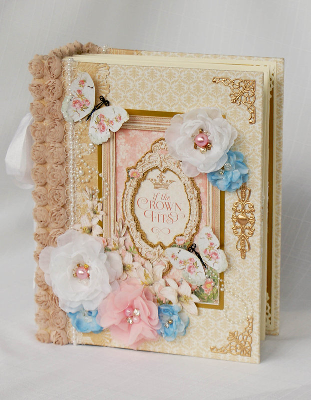 "Graphic 45 ""Gilded Lily"" Mini album"