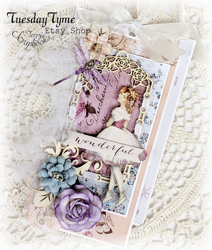 Prima Lavender Blue Tags Reneabouquets Guest Design Team Project