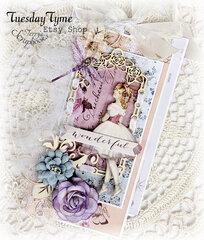 Prima Lavender Blue Tags Reneabouquets Guest Design Team Project