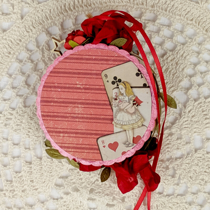 Alice In Wonderland Ornament Reneabouquets Guest Design Team Project
