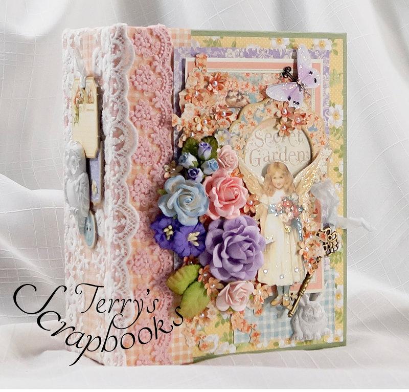 Graphic 45 Secret Garden Mini Album