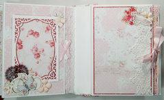 Prima Love Story Mini Album Reneabouquets Design Team Project