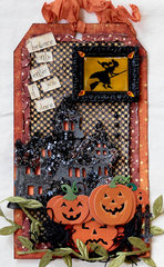 Halloween Tag for Swap