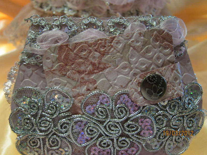 My 2nd Couch & Purse Mini in Pink and Silver colors
