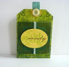 St. Patrick's Day Card/Mini Album **MOXXIE** Part One