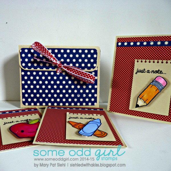 Teacher Gift Card Set **Some Odd Girl**