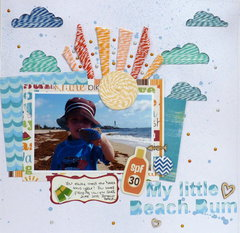 My Littel Beach Bum **IMAGINISCE**