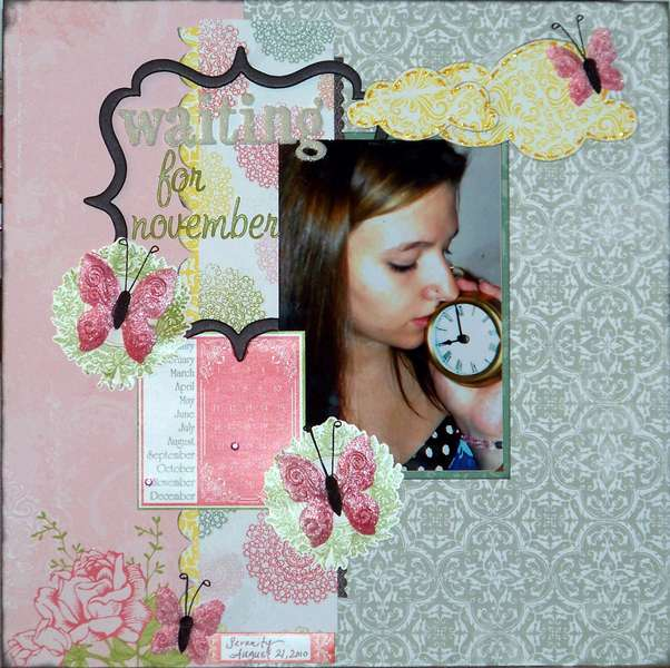 Waiting for November BIRDS OF A FEATHER KIT CO.