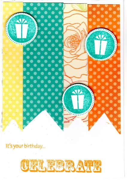 It's your Birthday...Celebrate