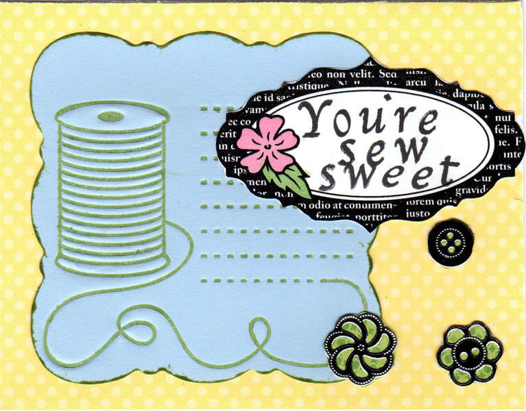 You're Sew Sweet