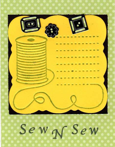 Sew N Sew