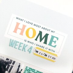 2020 Project Life: Week 4