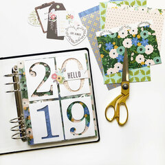 2019 Project Life: Title Page & January, Part 1