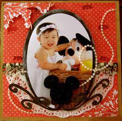 mickey_elegant baby girl